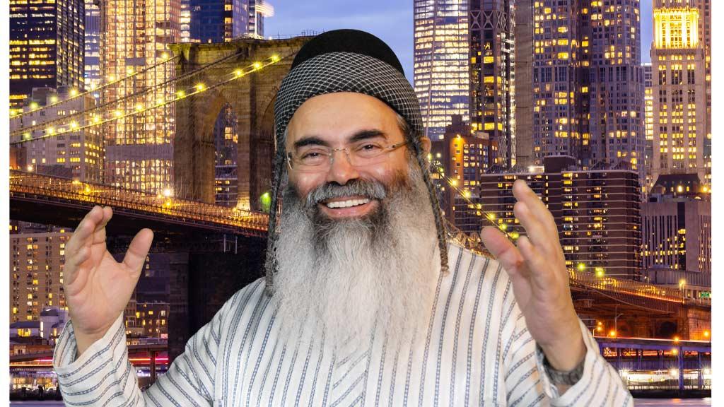 """הרב אמנון יצחק שליט""""א חוזר לניו יורק"""